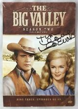 Signed DVD Cover The Big Valley / Autograph by Linda Evans