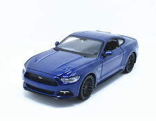 Maisto 2015 Ford Mustang GT Blue 1 24 Diecast Model Car