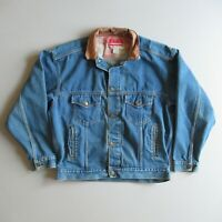 vtg Marlboro County Store Denim Jean Trucker Jacket 90s L
