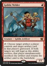 *FOIL* GOBLIN WELDER NM mtg Elves vs Inventors Red - Goblin Artificer Rare