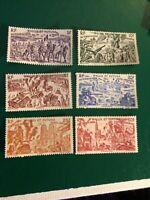 Wallis & Futuna islands stamps 1946 Chad to the Rhine MH