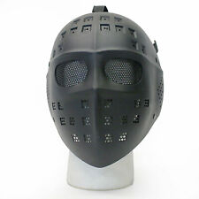 BBTac Airsoft Face Mask Hockey Style Full Face Protection Halloween Costume
