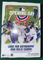 2021 TOPPS Opening Day Baseball Blaster Box 11 PACKS (77Cards) New Sealed