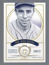 2012 National Treasures Pee Wee Reese Jersey Button #4/5