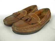 Dockers Tassel Kilti Loafers Mens Sz 12D Brown Leather Boat Casual Shoes 630181