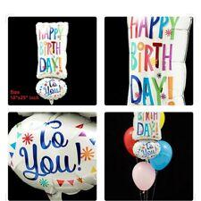 "Happy Birthday Jr Shape Foil Balloon 10""x 25"" inch ANAGRAM Party Celebration fs"