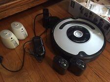 iRobot Roomba 560 - Silver/Black - Original 2 Halos, Dock Base + 2 white Halos