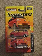Matchbox Superfast #31 Volkswagen Microbus Orange Limited Edition MOC 2005