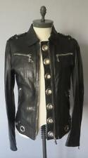 Gucci Limited Edition Black Leather Jacket
