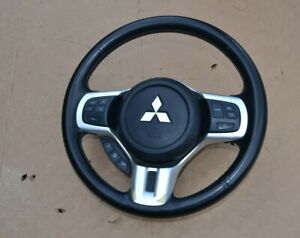 2008-2015 Lancer Evolution X Leather Steering Wheel Oem Evox Ralliart