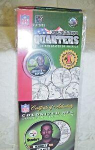 NFL Colorized Statehood Quarter Jerome Bettis  2005 MIP