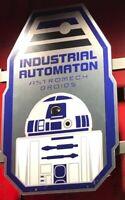DROID DEPOT Star Wars Galaxy's Edge NEW R2-D2 Tin SIGN Disney land Oga's + MAP