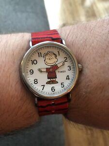Timex Peanuts Linus Weekender Watch Unworn Boxed
