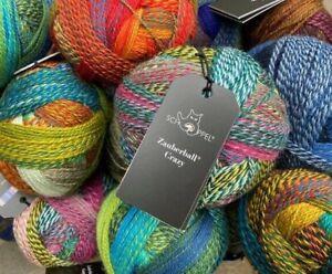 ZAUBERBALL CRAZY von SCHOPPEL Sockenwolle SOCK YARN 27 Farben  Made in Germany