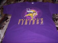 MINNESOTA VIKINGS SHIRT ADULT X LARGE