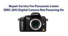 Repair Service For Panasonic Lumix DMC-GH2 Digital Camera Not Powering On