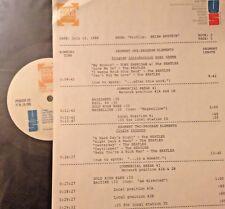 RADIO SHOW: BRIAN EPSTEIN TRIBUTE 7/12/88 30 MIN BEATLES, GERRY MARSDEN, CYRKLE