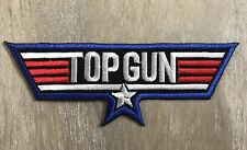 Top Gun Patch Jacket Denim Vest Movie