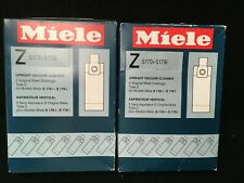 Miele vacuum dust bags type Z Two boxes Nib