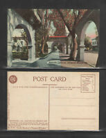 1910s RIVERSIDE CALIFORNIA GLENWOOD MISSION INN POSTCARD