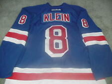Kevin Klein Game Used New York Rangers Jersey Steiner Sports Certified