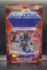 MOTU Masters of the Universe 200X SPIN BLADE SKELETOR New on card