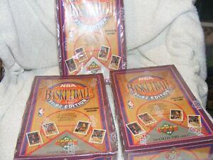 3 Sealed Upper Deck NBA Basketball Cards Inaugural Edition 1991-1992