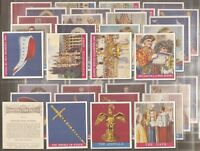 PHILLIPS-FULL SET- CORONATION OF THEIR MAJESTIES (M36 CARDS) - EXC