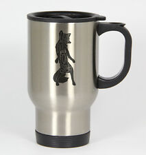 What Does the Fox Say #187 - Funny 14oz Silver Travel Mug YouTube Ylvis