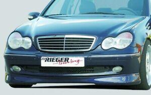 Mercedes Genuine Rieger Avant Garde W203 C Class Sedan Front Spoiler Lip