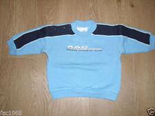 Pulls et cardigans bleus coton mélangé pour garçon de 0 à 24 mois