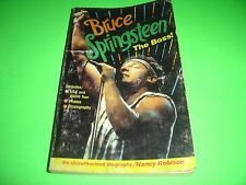 Bruce Springsteen The Boss! By Nancy Robison 1985 Paperback