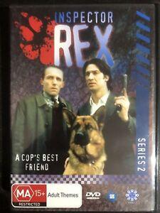 Inspector Rex A Cop's Best Friend Series 2 - Compete DVD Box Set Region 4