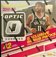 2019-20 Panini Donruss Optic Basketball Mega Box Zion Ja rookie prizm mosaic