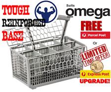 Best quality dishwasher cutlery basket, suits Omega models - Reinforced base.