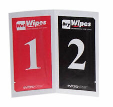 10PCS Wet & Dry Wipes Cleaning Paper Dust Removal Set For Camera Lens LCD UK
