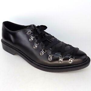 TUK Leather Corset Oxford Unisex Black Shoes Size Mens 13 Wo's 15 EU 46 AL5032