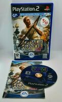Medal of Honor: Rising Sun Video Game for Sony PlayStation 2 PS2 PAL TESTED