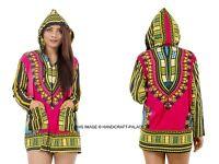 Dashiki African Mexican Poncho Tribal Shirt Blouse Cotton Unisex T-shirt Top