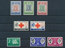 LM80355 St Lucia mixed thematics fine lot MNH