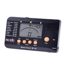 Musedo Mt-30 Metro-Tuner 3-In-1 Tuner, Metronome, Tone Generator For Guitar U6U3