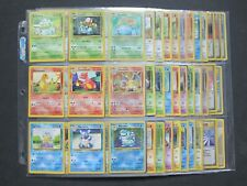 COMPLETE ORIGINAL 151/150 POKEMON - 45 HOLOS - BASE JUNGLE FOSSIL ONLY + TRAINER