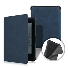 Leather Magnetic TPU Back Cover Folio Book Case for All Amazon Kindle Paperwhite