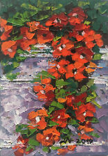 Original Art Oprina-Felicia Dolea - Oil Painting 4x6 in #746