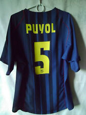 Hervorragende!!! selten!!! Puyol!!! 2004-05 Barcelona Away Shirt XL