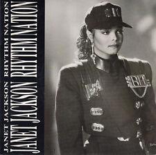 """Janet Jackson 7"""" Rhythm Nation - Europe"""
