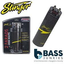 Stinger SSCAP2M 2 Farad 2000 Watt Car Amp Amplifier Digital Power Cap Capacitor
