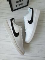 SIZE 15 MEN'S NIKE COURT ROYALE 2 WHITE / BLACK CQ9246-100 SNEAKERS  CASUAL
