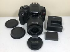 Canon EOS Rebel T6 18.0MP Digital SLR Camera with 18-55mm f/3.5-5.6 IS II Lens