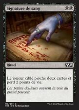 MTG Magic M15 FOIL - Sign in Blood/Signature de sang, French/VF